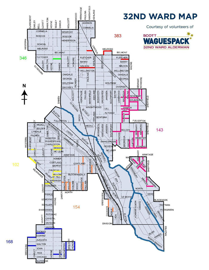 Chicago Free Parking Map