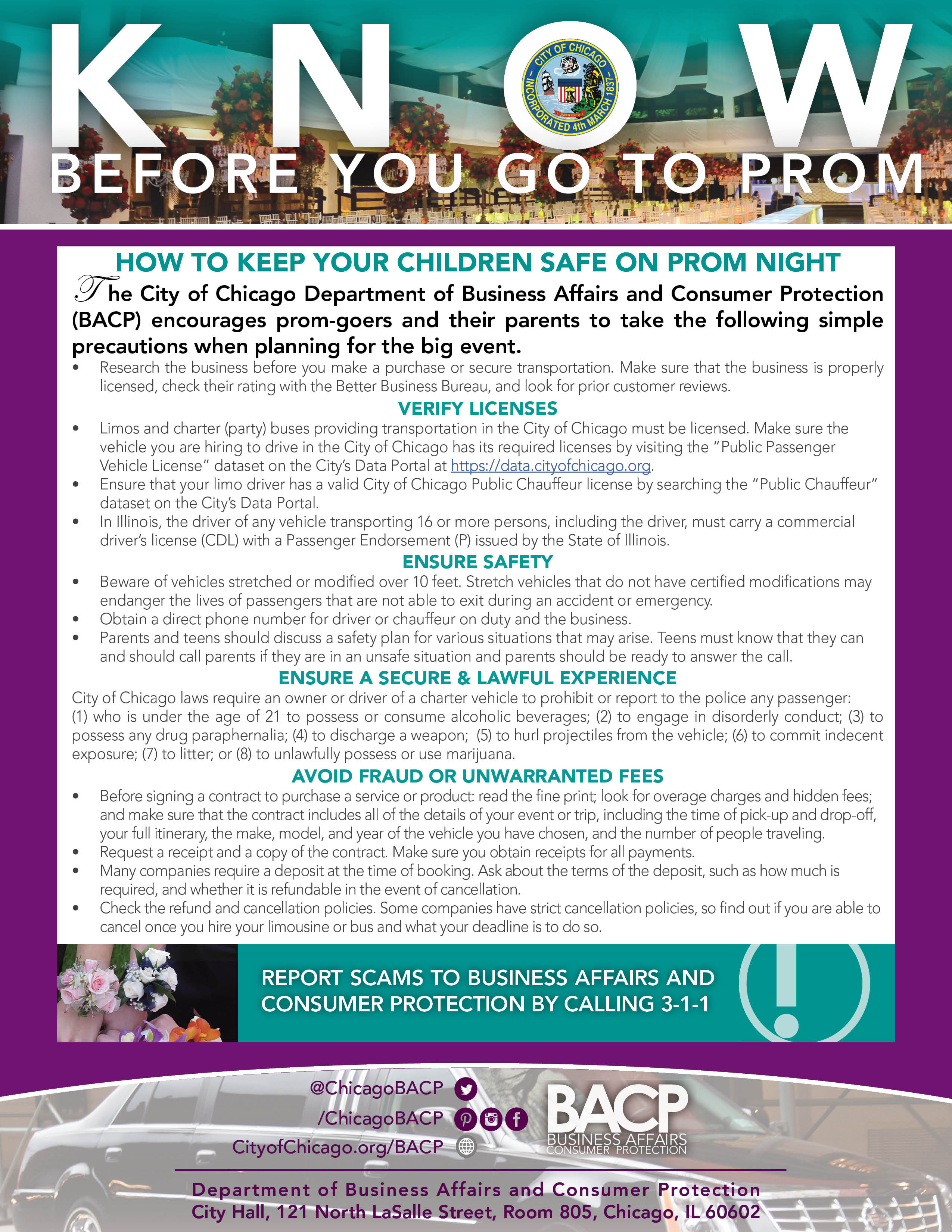 Know Before You Go to Prom