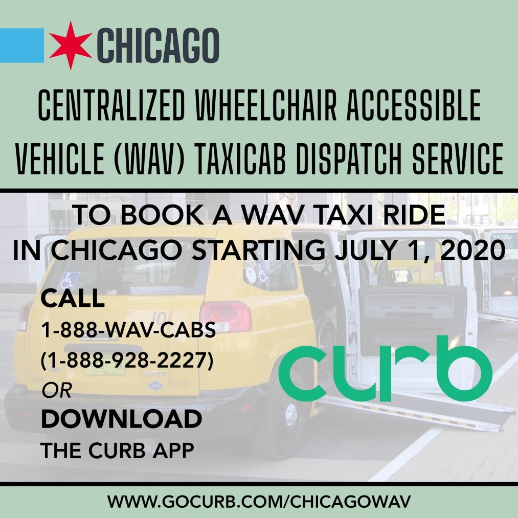 City of Chicago Centralized Wheelchair Accessible Vehicle Taxicab Dispatch Service