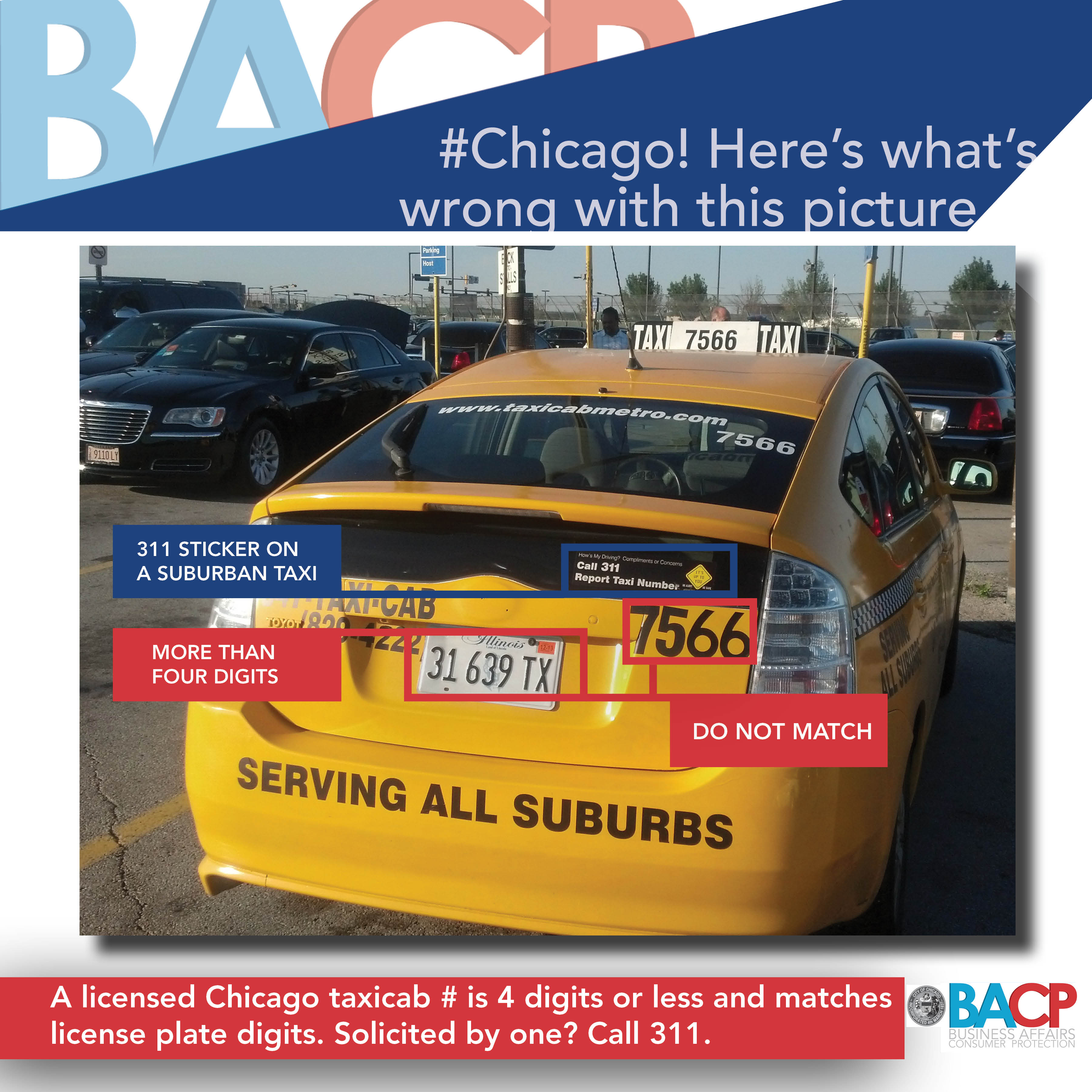 Unlicensed Taxi Campaign