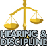 Hearint and Disciplinary Actions
