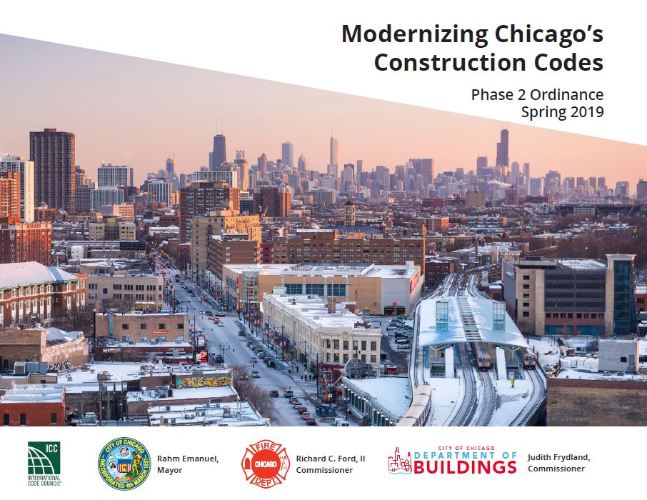 Modernizing Chicago's Construction Codes - Phase 2 booklet