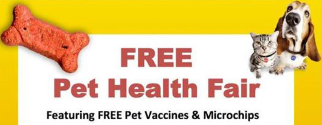 FREE Pet Health Fair