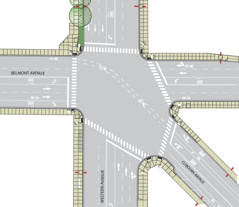 Rendering of Project Intersection