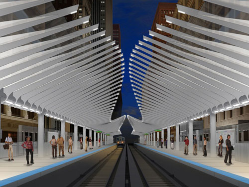 Washington / Wabash Loop Elevated Station Project