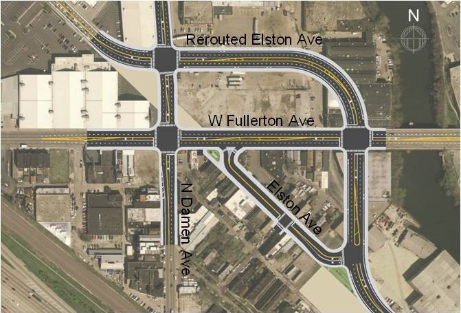 rendering of improved intersection