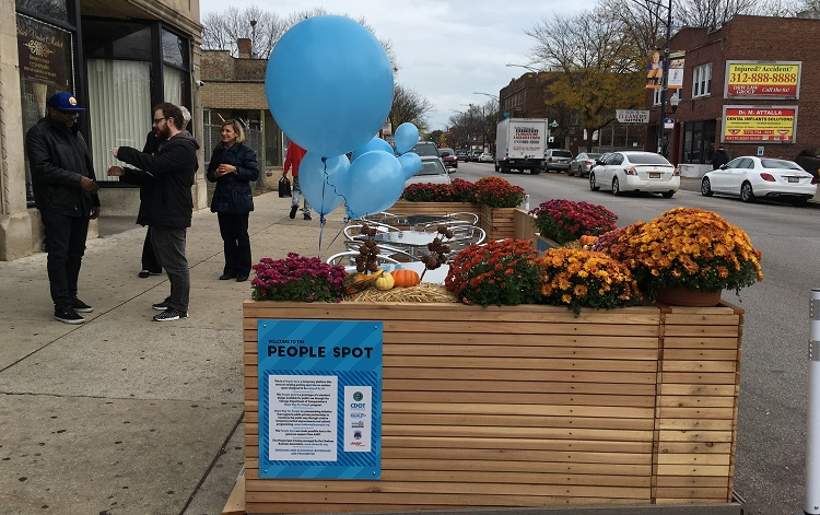 Unveiling of Prototype People Spot in Chatham