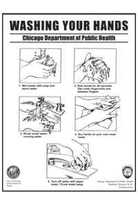 Washing Your Hands Flyer