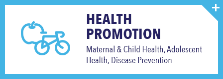 Maternal & Child Health, Adolescent Health, Disease Prevention