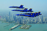 2019 Performers (U.S. Navy Blue Angels pictured)