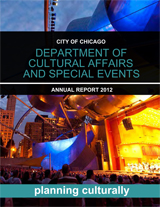 2012 Department of Cultural Affairs And Special Events Annual Report