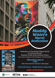 Muddy Waters Mural Dedication