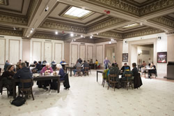 Chicago Cultural Center's First Floor