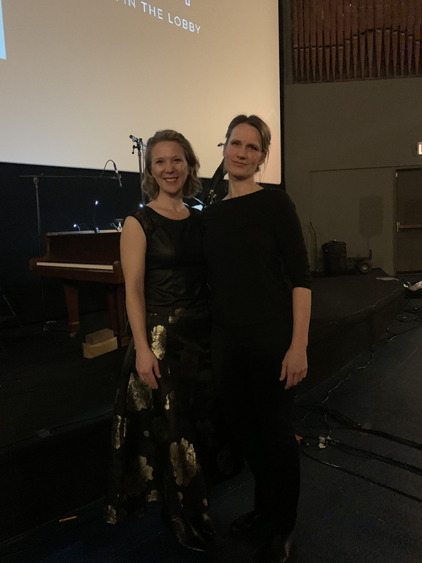 Amy Wurtz and Marianne Parker