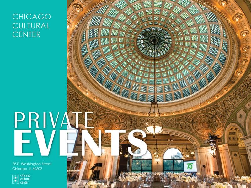 Chicago Cultural Center Wedding.City Of Chicago Chicago Cultural Center Private Event