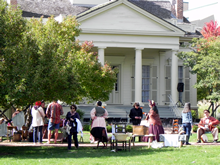 Family Day event at the Clarke House Museum