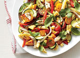 Recipes - Farmers' Market Pasta Salad (Photo: Hector Sanchez; Styling: Heather Chadduck)