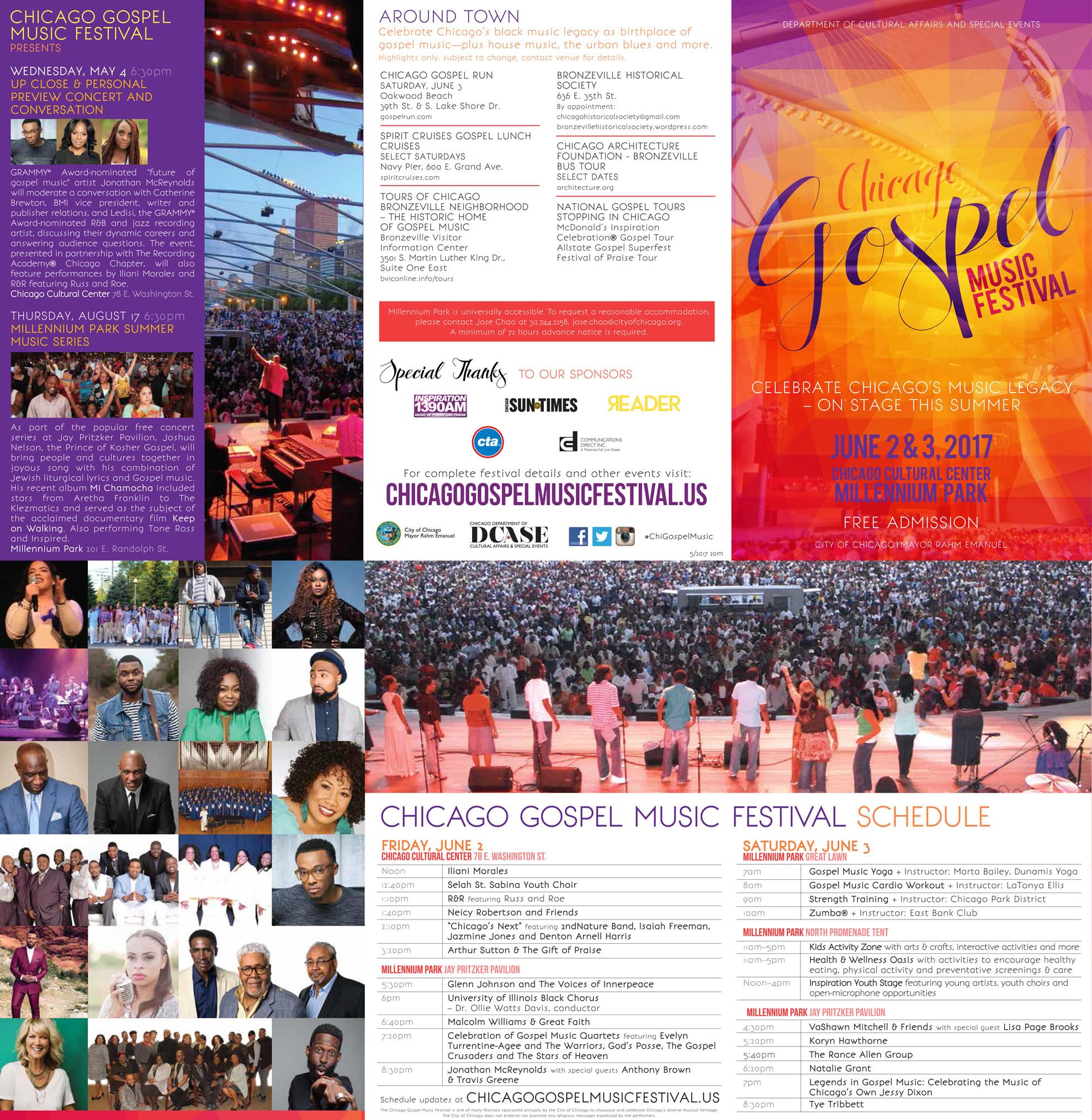 City Of Chicago Chicago Gospel Music Festival