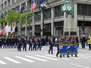 Prosser High School marching in Chicago's Memorial Day Parade