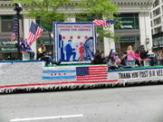911 Veterans float in Chicago's Memorial Day Parade