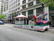 Tuskegee Airmen float in Chicago's Memorial Day Parade