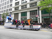 Union League Club of Chicago float in Chicago's Memorial Day Parade