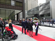 Wreath Laying Ceremony in Daley Plaza