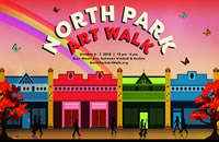 Fall Schedule (North Park Art Walk pictured)