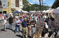 September Schedule (Edgewater Arts Festival pictured)
