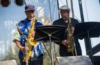 September Schedule (Hyde Park Jazz Festival pictured)