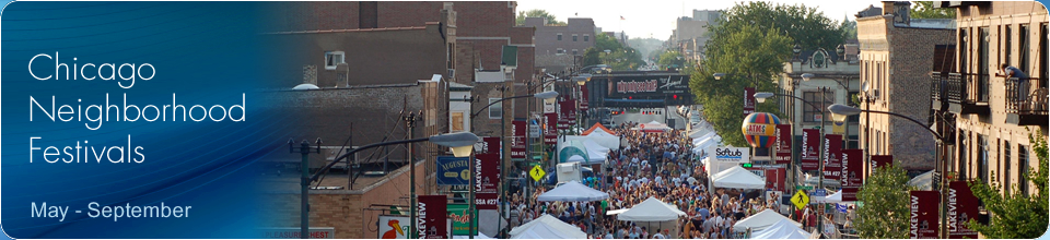 Chicago Neighborhood Festivals banner