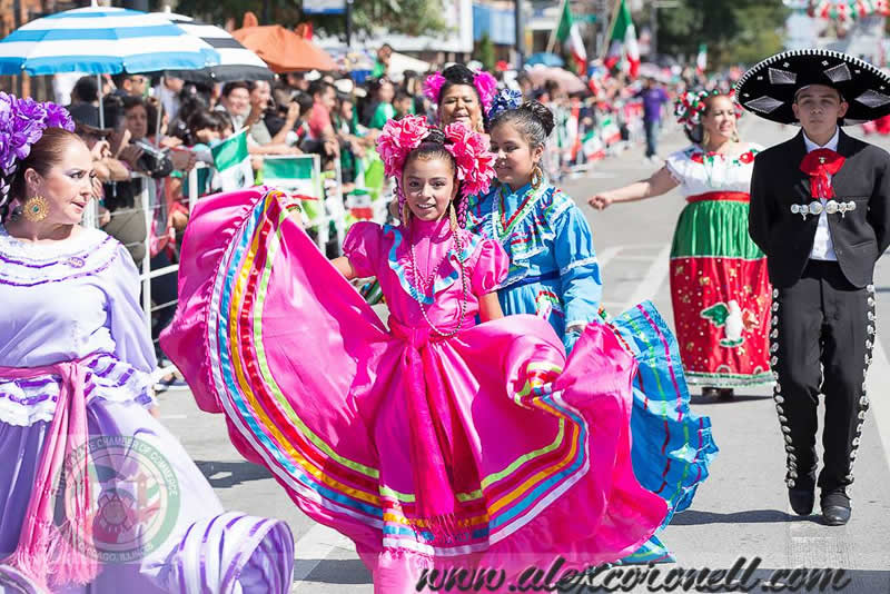 City Of Chicago 26th Street Mexican Independence Day Parade