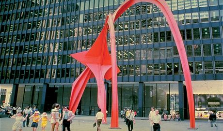 Alexander Calder - Flamingo - Chicago, USA