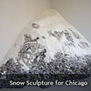Snow Sculpture for Chicago