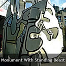 Monument with Standing Beast
