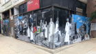 David Orozco, The Blue Goose Mural, 2020. 2901-03 N. Milwaukee Ave. Photo courtesy of artist