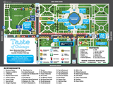 Download the 2016 Taste of Chicago Map