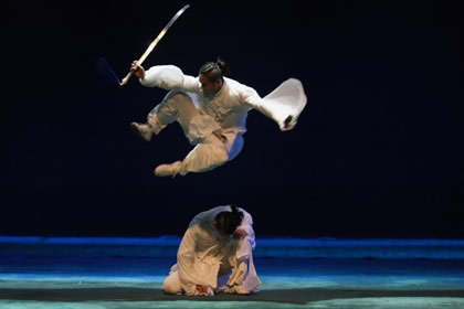 Jackie Chan's Long Yun Kung Fu Troupe from Beijing
