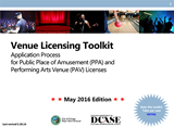 Venue Licensing Toolkit