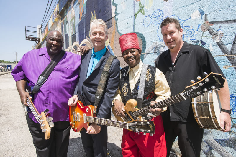 Lil' Ed & The Blues Imperials (Photo by: Paul Natkin)