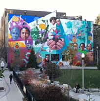 "50x50 Neighborhood Arts Projects (Artwork: Jeff Zimmerman, ""ConAgra Mural"", 2016)"