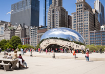 Chicago Public Art Plan (Cloud Gate pictured)