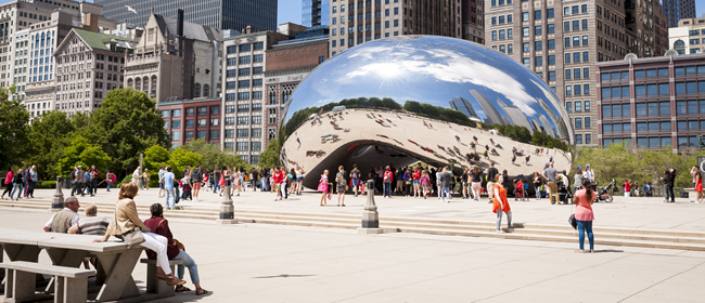 Cloud Gate in Millennium Park