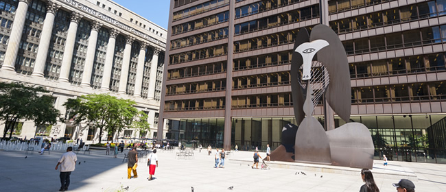 """The Picasso"" in Daley Plaza"