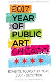 2017 Year of Public Art Chicago July-December Brochure