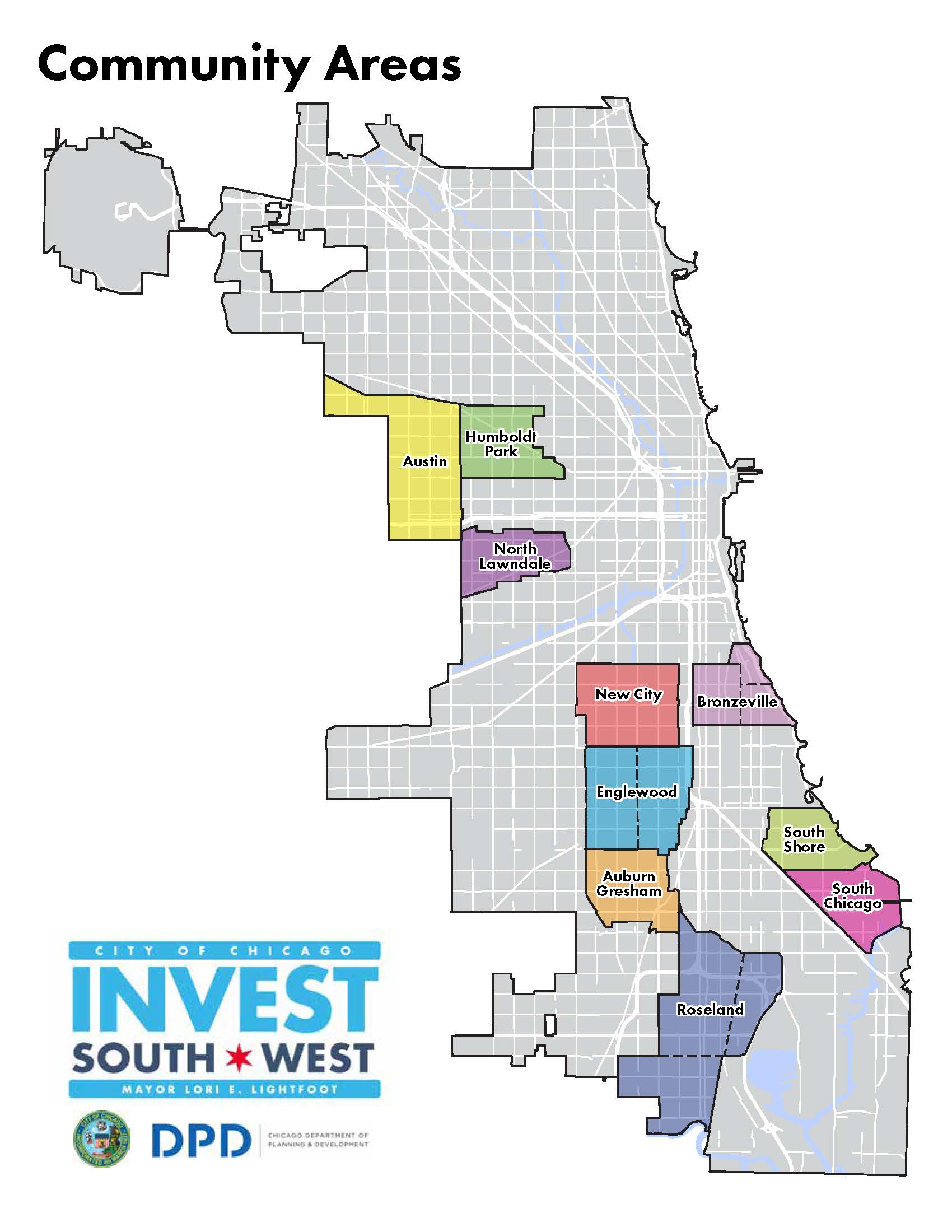 Invest South West Map