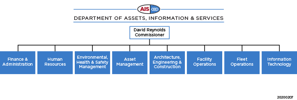 Assets, Information and Services (AIS) structure 2020