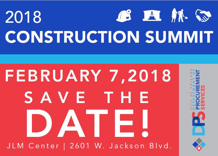 City Of Chicago Construction Summit 2018