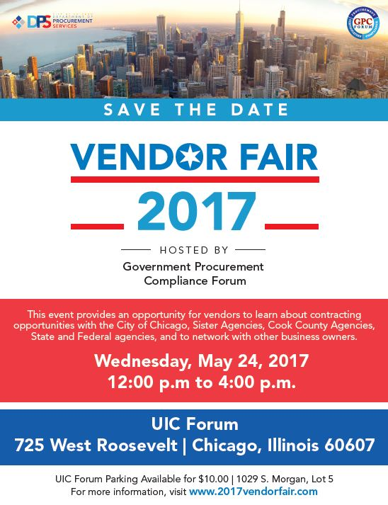 Vendor Fair 2017 Flyer