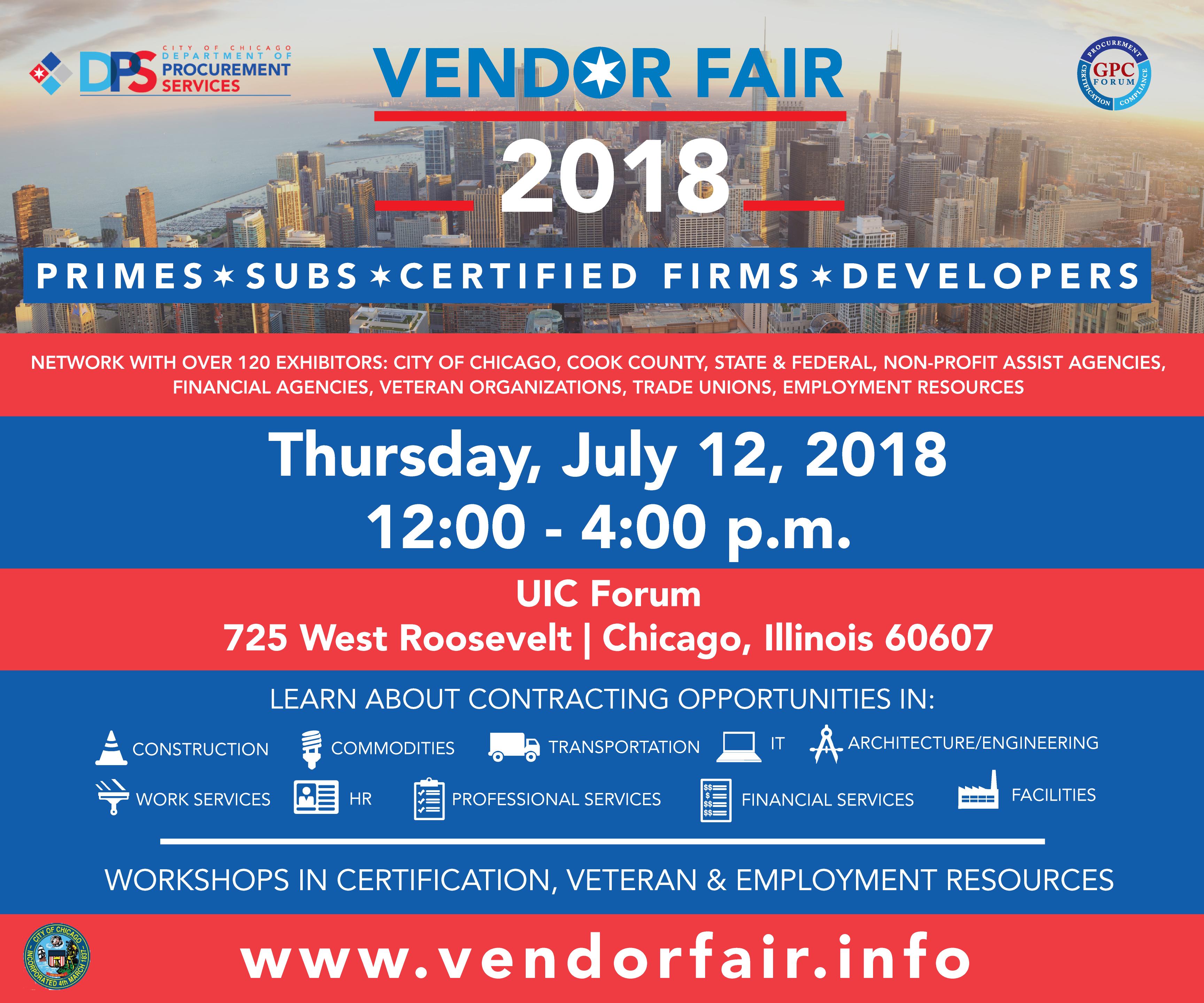 City Of Chicago Vendor Fair